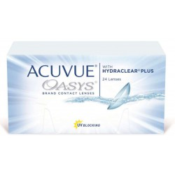 ACUVUE OASYS WITH HYDRACLEAR PLUS 24L