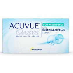 ACUVUE OASYS for PRESBYOPIA With HYDRACLEAR PLUS MID 6L
